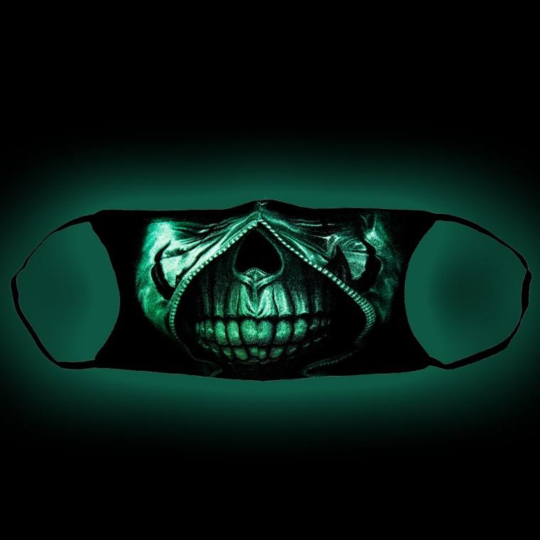 maschera stampa con Teschio