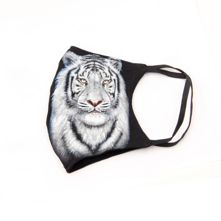 Maschera stampa con tigre