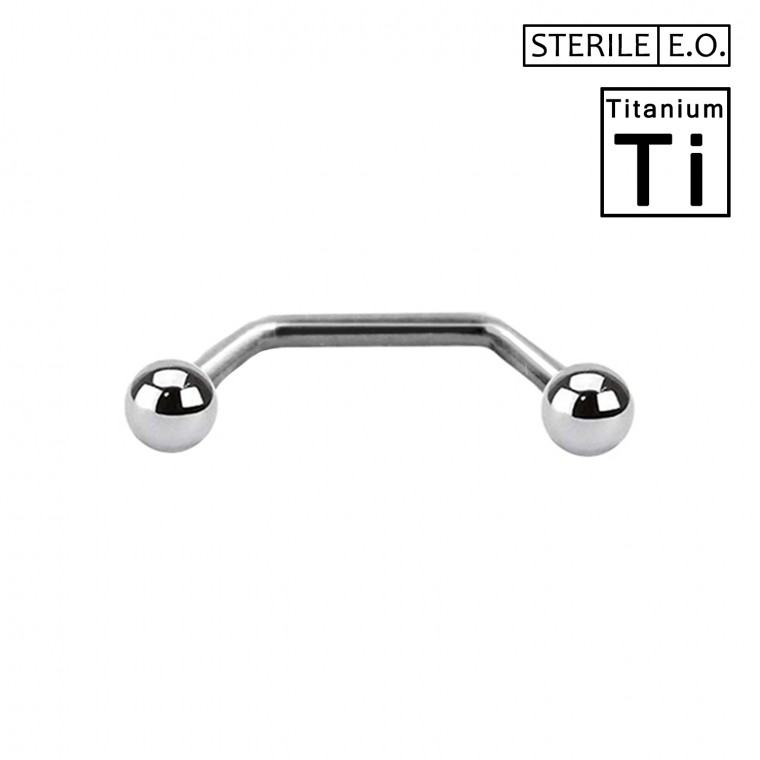 PTS-03-1 Surface Barbell Sterile in Titanio  Φ1.6mm