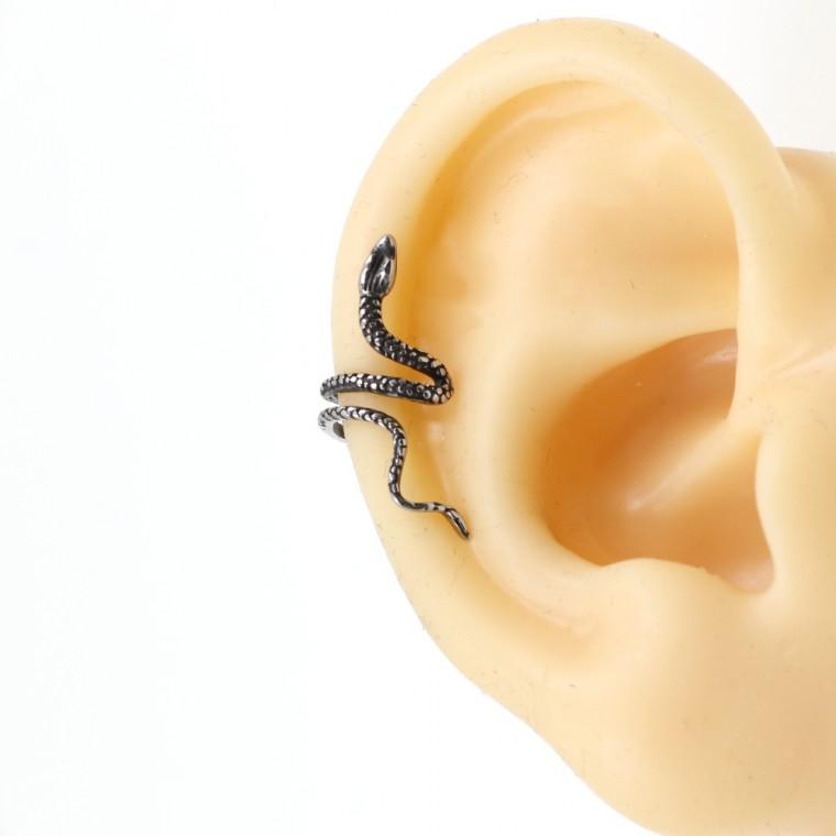 Orecchino Cuff Serpente senza Piercing