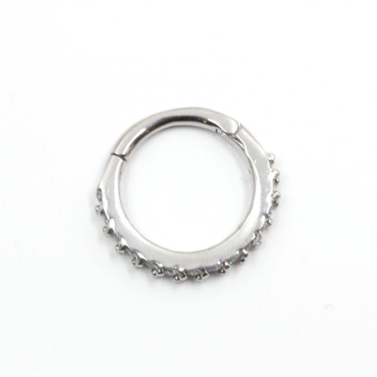 Anello Segmentato Cerchio con Cristalli