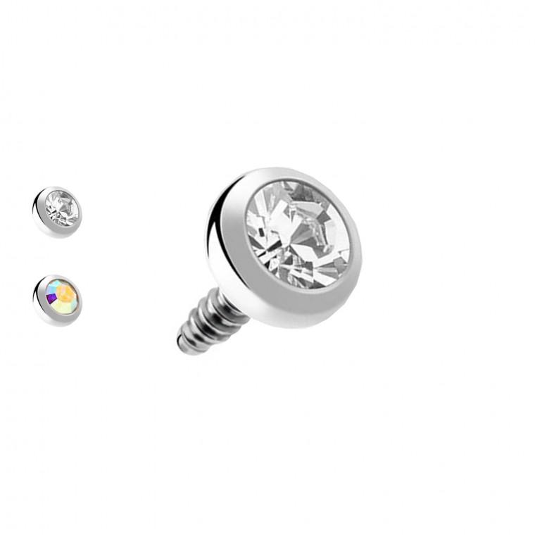 Micro Disco Brillante  per Dermal Anchor
