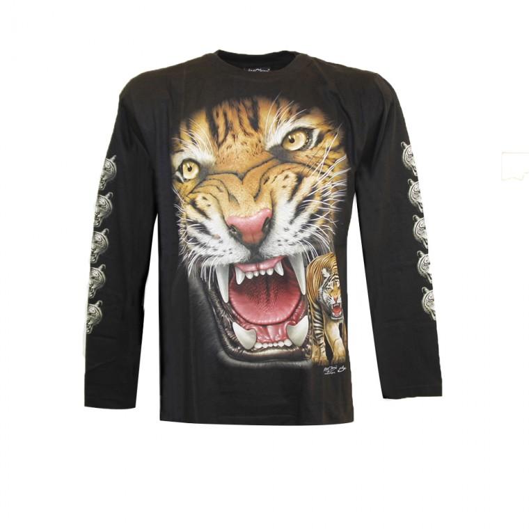 T-shirt Tigre aggressiva