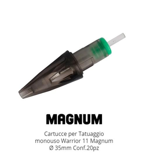 WARRIOR Nuova Cartucce Per Tatuaggio (Ø 0.35mm Magnum M1)