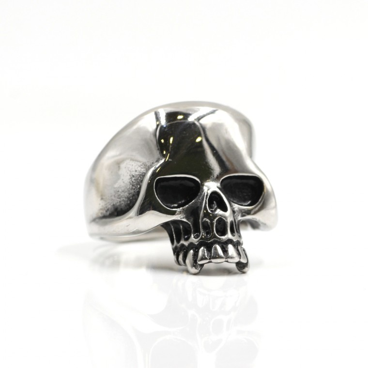 Anello Teschio Cranio Gotico