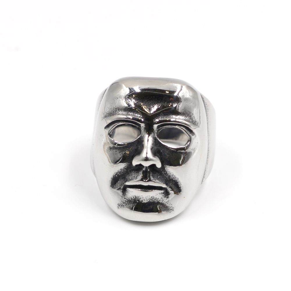 Anello Viso Maschera della testa
