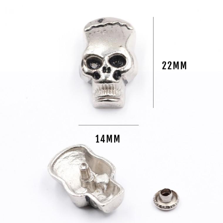 Borchie Metalliche  10 PZ  BM-20